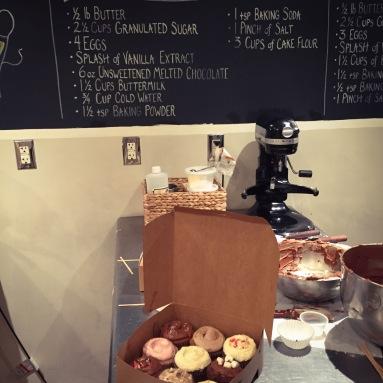 Cupcake 101 at Butter Lane